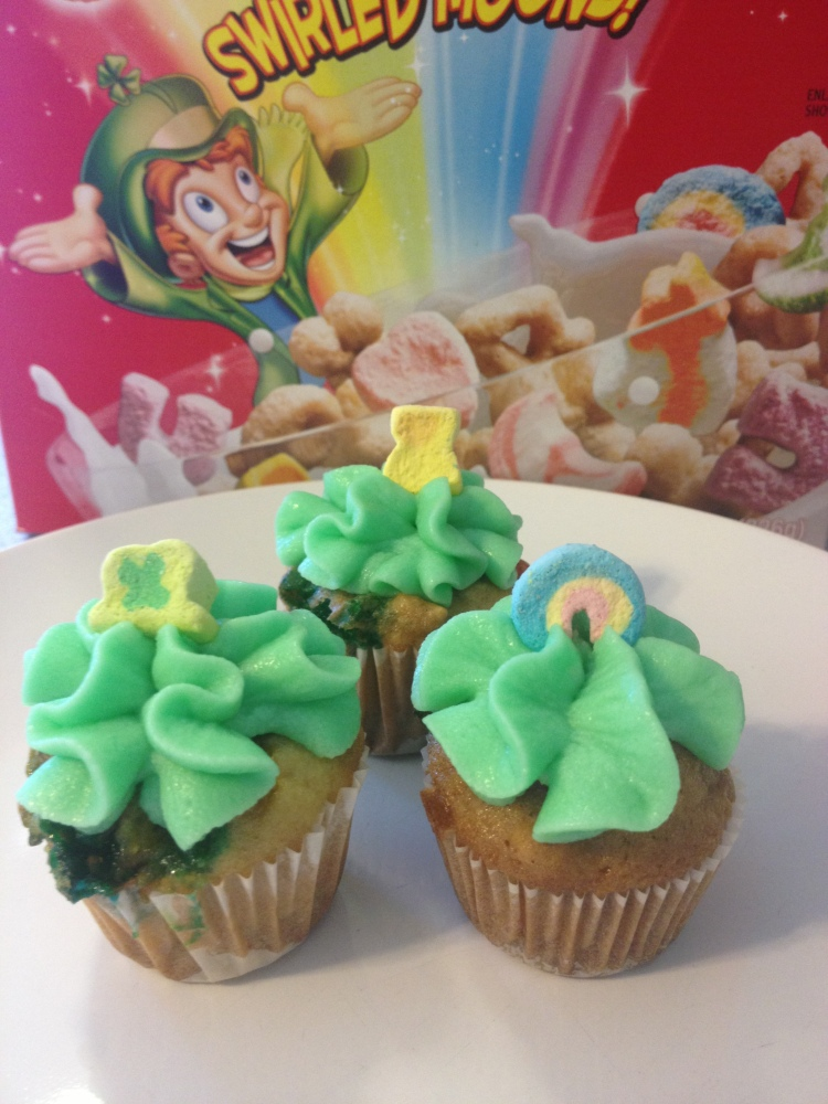 Lucky Charms Cupcakes: They're Magically Delicious (1/4)